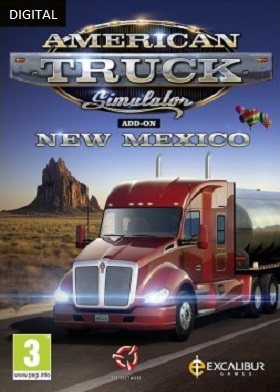 American Truck Simulator New Mexico DLC