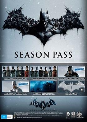 Batman Arkham Origins Season Pass DLC