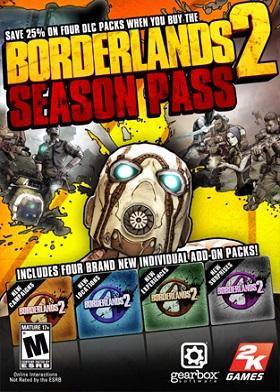 Borderlands 2 Season Pass DLC