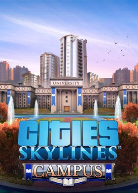Cities Skylines Campus Expansion DLC