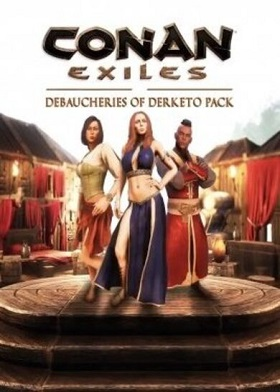 Conan Exiles Debaucheries of Derketo Pack DLC