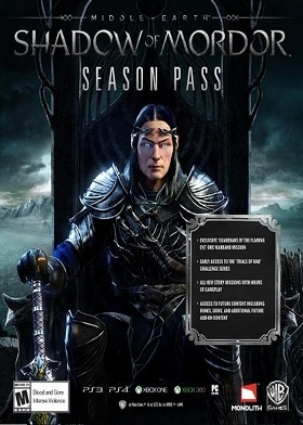 Middle-earth Shadow of Mordor Season Pass DLC