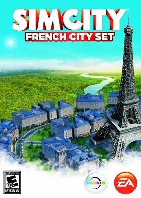 SimCity French City Set Expansion DLC