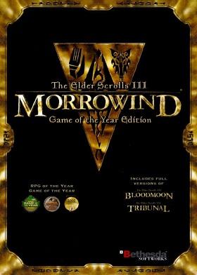 The Elder Scrolls III Morrowind GOTY