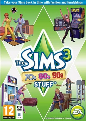 The Sims 3 70s, 80s, & 90s Stuff Pack DLC