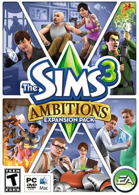 The Sims 3 Ambitions DLC