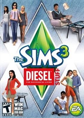 The Sims 3 Diesel Stuff Pack DLC