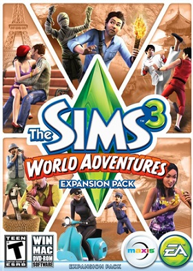 The Sims 3 World Adventures DLC