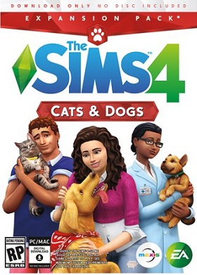 The Sims 4 Cats and Dogs Expansion Pack DLC