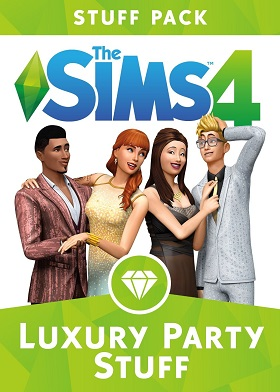 The Sims 4 Luxury Party Stuff Pack DLC