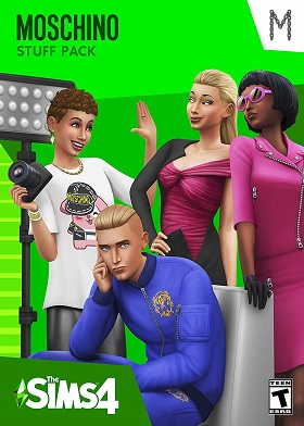 The Sims 4 Moschino Stuff Pack DLC