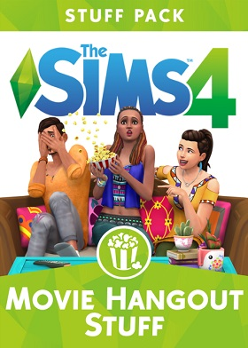 The Sims 4 Movie Hangout Stuff Pack DLC