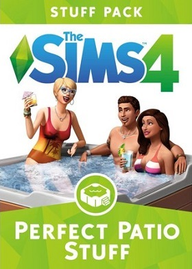 The Sims 4 Perfect Patio Stuff Pack DLC