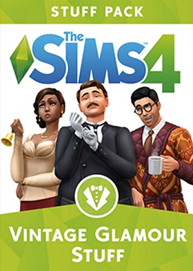 The Sims 4 Vintage Glamour Stuff Pack DLC