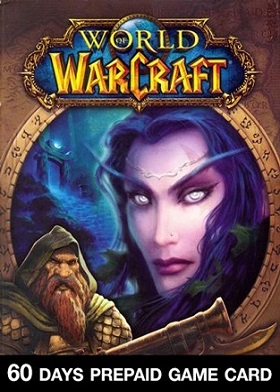 World of Warcraft 60 Days Time Card